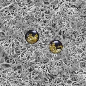 Auskarai iš polimerinio molio