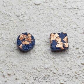 Auskarai iš specialaus betono
