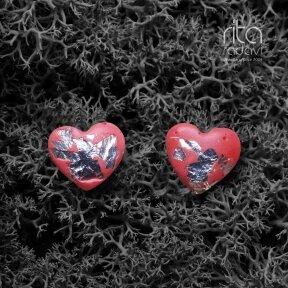 Auskarai širdelės