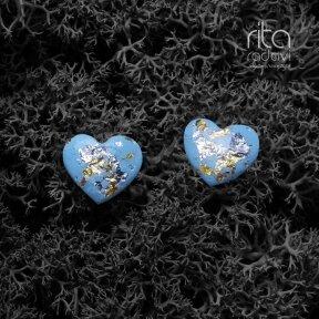 Auskarai - širdelės