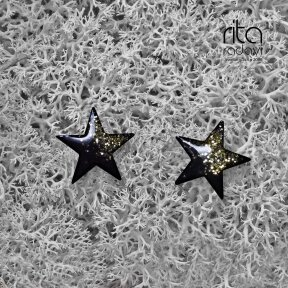 Auskarai - žvaigždės