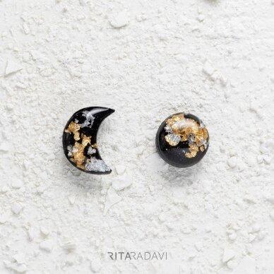 Auskarai mėnuliukai