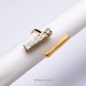 Žiedas iš nerūdijančio plieno