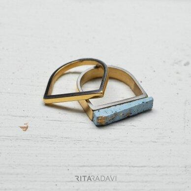 Žiedų komplektas iš nerūdijančio plieno 3